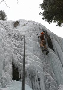 ice climb montana