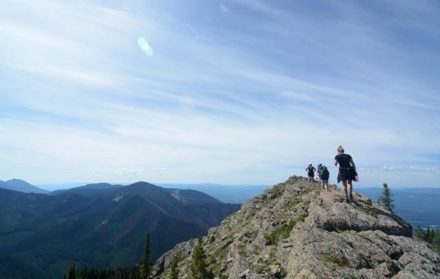 trekking montana
