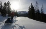 winter camp glacier national park
