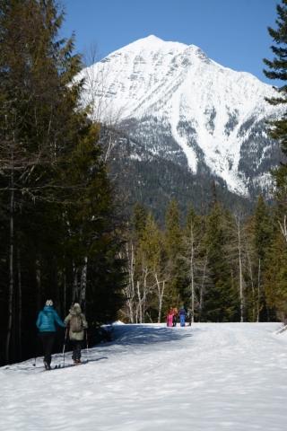 cross-country ski glacier park